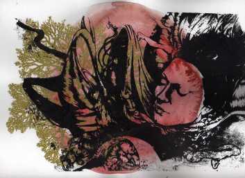 serigraphie aquarelle I