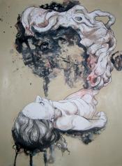 Breathe - Mixed Media on paper - 12'x16'